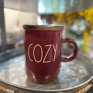 Rae Dunn Cozy Red Mug